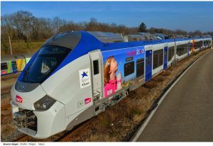 Marquage du train SNCF