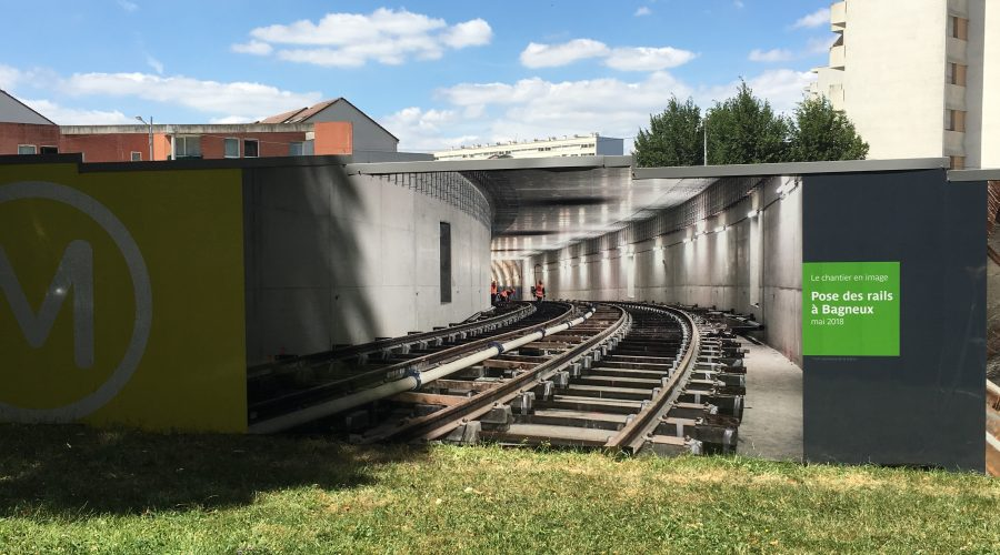RATP Travaux Bagneux